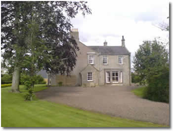 Ancroft Manor, self catering farmhouse Northumberland